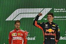 Formel 1 MSM-Fahrerwahl 2018, Redaktion: Verstappen vor Vettel