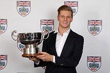 Briten ehren Mick Schumacher: Weltmeister der Zukunft