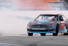 NASCAR - Video: NASCAR: Drift-Action mit dem neuen Ford Mustang für 2019