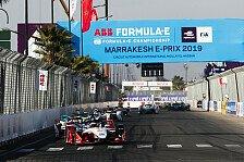 Formel E: BMW wirft Sieg weg, D'Ambrosio siegt in Marrakesch