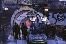 WRC-Comeback von Marcus Grönholm bei der Rallye Schweden 2019
