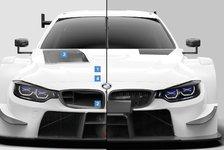 DTM-Turbo-Autos in neuem Design: BMW baut sogar die Niere um