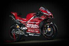 Ducatis neue MotoGP-Waffe: Die Desmosedici GP19 in Bildern