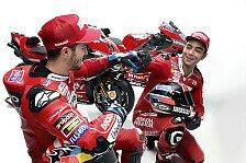 MotoGP - Andrea Doviziosos idealer Ducati-Adjutant