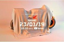 MotoGP - Video: LIVESTREAM: Lorenzo und Marquez enthüllen die neue MotoGP-Honda