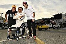 24h Daytona: Wie Alex Zanardi sogar Fernando Alonso überstrahlt