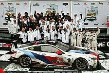 Für Charly Lamm: BMW feiert emotionalen Sieg in Daytona