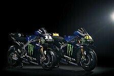 MotoGP: Die neue Yamaha M1 von Rossi und Vinales in Bildern