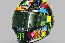 Valentino Rossi: Das ist sein Winterhelm für die MotoGP-Tests