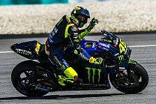 Valentino Rossi zufrieden: Es bewegt sich etwas bei Yamaha