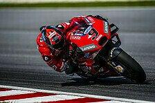 Ducati-Teamwork: Dovi und Petrucci fahren gemeinsamen Longrun
