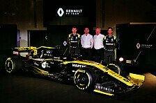 Formel 1, Renault präsentiert Auto 2019: Angriff auf die Spitze