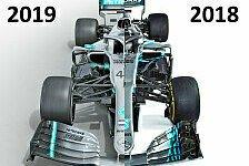 Formel 1 Technik-Check Mercedes: Überraschungs-Titelverteidiger