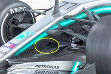 Formel 1 Bilderserie: Mercedes F1 W10 im Technik-Check