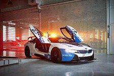 Formel E 2019: BMW zeigt i8 Safety Car in neuem Design