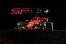 Formel 1 2019: Präsentation Scuderia Ferrari SF90 - Alle Bilder