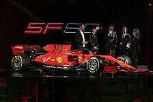 Formel 1 Ticker-Nachlese: Vettels neuer Ferrari präsentiert