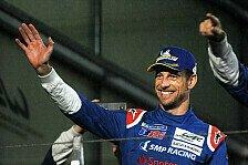 Früherer Formel-1-Weltmeister Jenson Button fährt Rallye