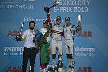 Formel E 2019: Ergebnis Mexiko-Rennen und Stimmen der Top-10