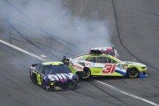 NASCAR - Video: NASCAR Daytona 500 2019: Crash in der Boxengasse
