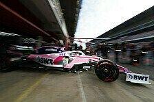 Formel 1, Tests 2019: Racing Point zeigt RP19 - erste Ausfahrt