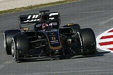 Formel 1, Grosjean nach erstem Test: Haas besser als Vorgänger