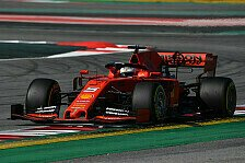 Formel-1-Testfahrten 2019: Vettel dominiert Tag 1 in Barcelona