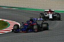 Formel-1-Test Tag 3: Kvyat holt Bestzeit vor Räikkönen