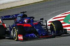 Formel-1-Test, Kvyat-Überraschung: So viel Vollgas war dabei