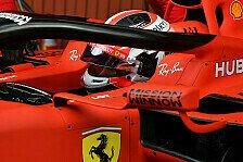 Formel 1, Ferrari ohne Mission-Winnow-Lackierung in Australien