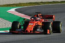 Formel-1-Testfahrten 2019: Ferrari dominiert auch Tag zwei