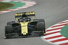 Formel-1-Testfahrten 2019: Renault schlägt Ferrari & Mercedes