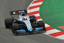 Formel 1 Testfahrten, Williams-Leid vorbei: Erste Russell-Runde