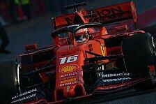 Formel 1, Leclerc zur Ferrari-Form: Auch wir zeigen nicht alles