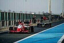 Formel 3: So lief der Shakedown mit dem neuen Rennauto