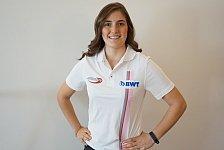 Formel 2: Calderon erste Frau in der Geschichte der Serie