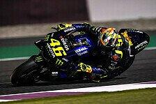 MotoGP: Bestzeit für Valentino Rossi im 1. Training in Katar