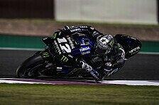 MotoGP Test Katar 2019: Vinales am Montag voran, viele Stürze