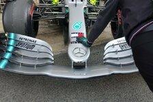 Formel 1 Testfahrten: Mercedes bringt riesiges Technik-Upgrade