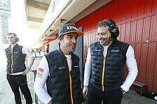 Formel 1, McLaren bestätigt: Alonso fährt Tests