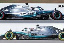Formel 1 Bilderserie: Mercedes bringt Monster-Upgrade