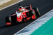 Mick Schumacher holt Wochenbestzeit beim ersten Formel-2-Test