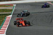 Formel 1, Hamilton überzeugt: Mittelfeld hat Rückstand halbiert