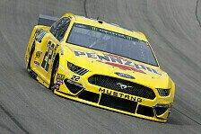 NASCAR Las Vegas: Champion Joey Logano siegt in Sin City