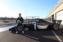 David Schumacher steigt mit US Racing in neue Formel-Serie auf