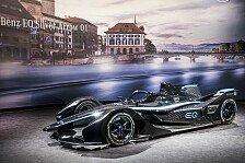 Formel E - Video: Formel E: Mercedes liefert Vorgeschmack auf Silberpfeil 2019