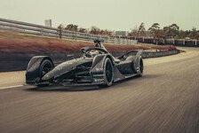 Formel E 2019: Porsche fährt erste Kilometer mit neuem Auto