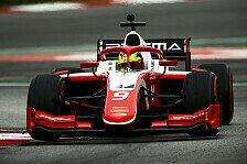F2-Tests mit Mick Schumacher: De Vries glänzt zum Abschluss