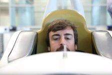 IndyCar - Video: Fernando Alonso: Sitzanpassung für die Indy 500 2019 im Video