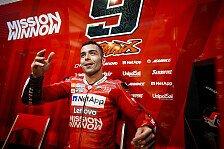 MotoGP: Danilo Petrucci auch 2020 im Ducati-Werksteam